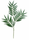 "1 dozen - Artificial Phoenix Palm Branches - 28"" Length"