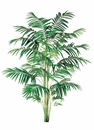 10' Artificial Areca Palm With 732 Leaves - Non Potted