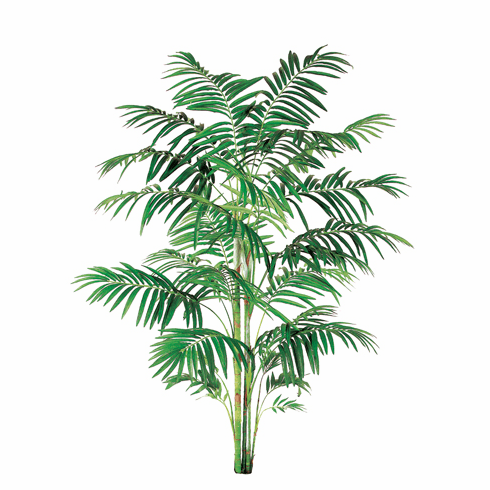 10' Artificial Areca Large Palm Tree With 732 Leaves - Non Potted