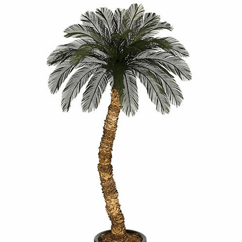 10' Outdoor Artificial Palm Tree - Non Potted