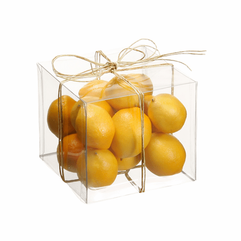 12 Boxes of Artficial Assorted Lemons - Each box contains 15 lemons