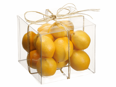 12 Boxes of Artficial Assorted Lemons