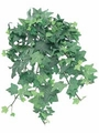 "13"" Artificial Mini English Ivy Silk Plant Bush - Frosted Green - Set of 12"