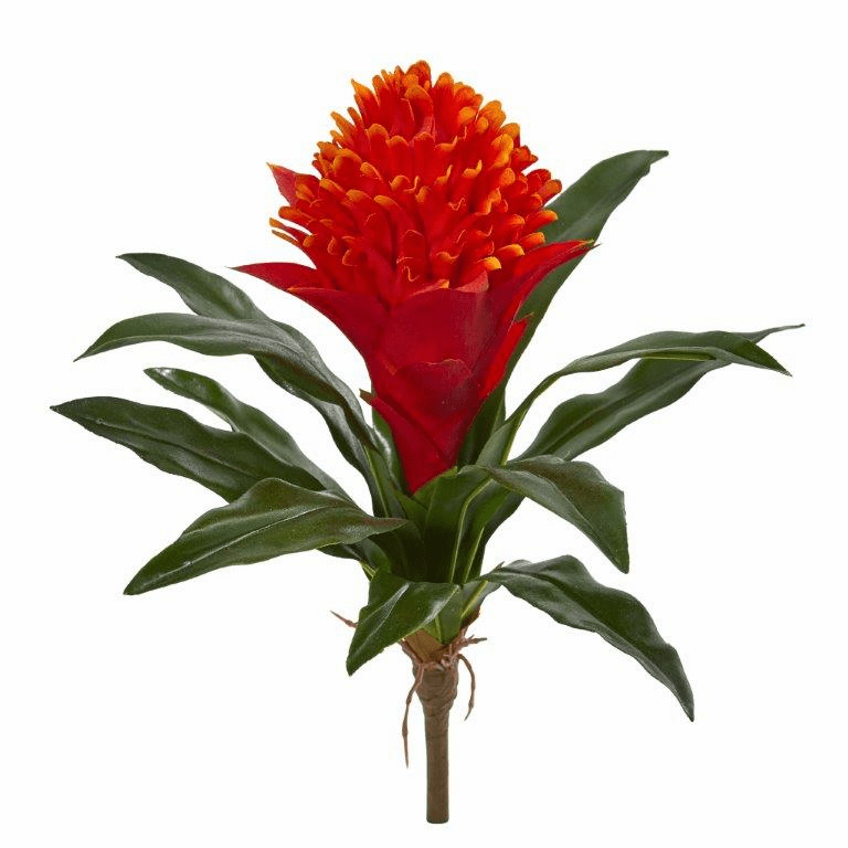 14� Bromeliad Artificial Flower (Set of 8)