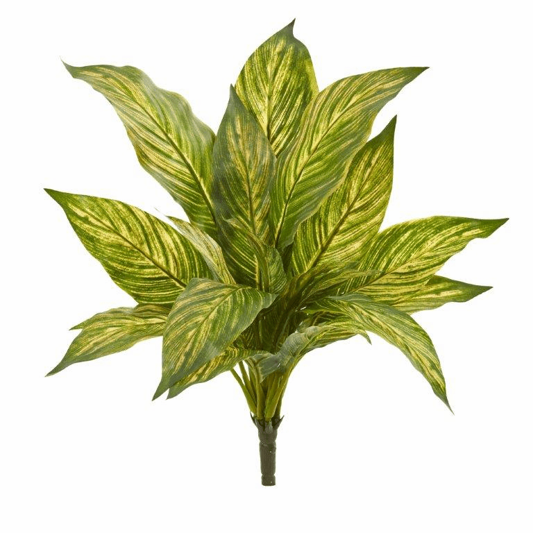 14� Musa Leaf Artificial Plant (Set of 12)