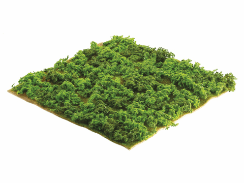 "14""Wx14""L Artificial Mountain Sphagnum Moss Sheet Green - Set of 12"