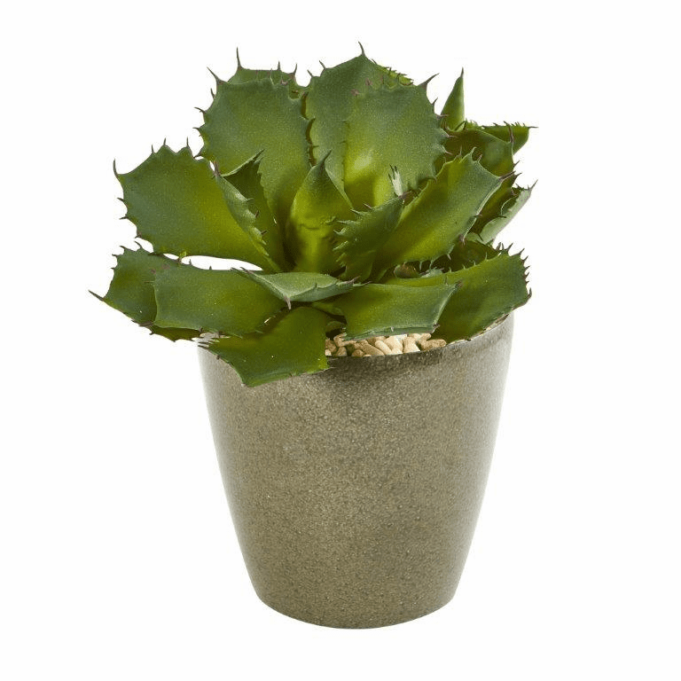 15� Succulent Artificial Plant in Decorative Planter