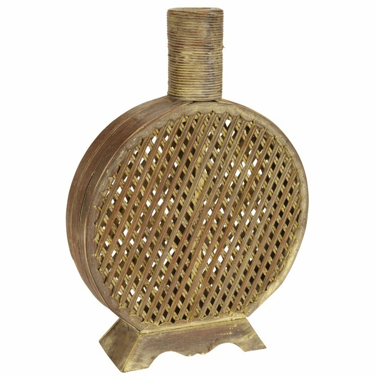 "16.75"" Open Weave Decorative Vase"