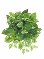 "Set of 12 - 17"" Artificial Silk Pothos Hanging Bushes"