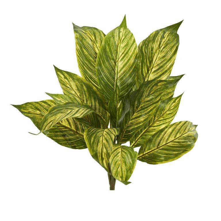 17� Musa Leaf Artificial Plant (Set of 12)
