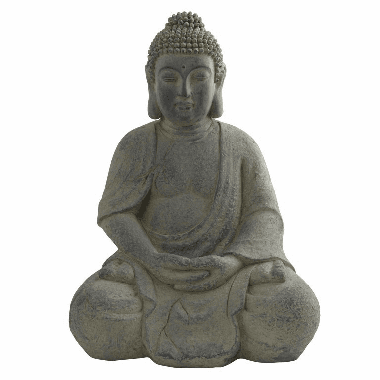 "19.75"" Buddha Statue (In-Door/Out-Door)"