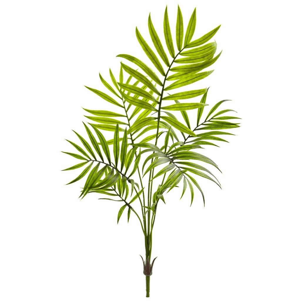 "19"" Mini Areca Palm Artificial Bush (Set of 6)"