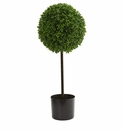 2.5� Boxwood Ball Artificial Topiary Tree UV Resistant (Indoor/Outdoor)