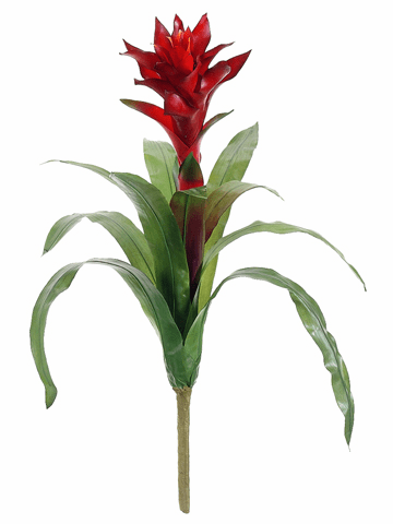 "20"" Artificial Bromeliad Plant Stem - Set of 12"