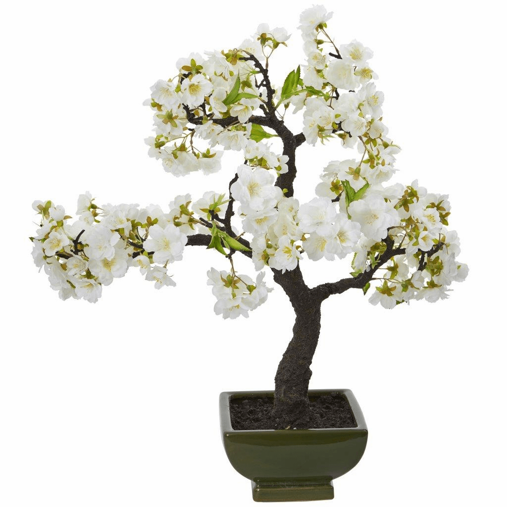 "20"" Cherry Blossom Bonsai Artificial Tree"