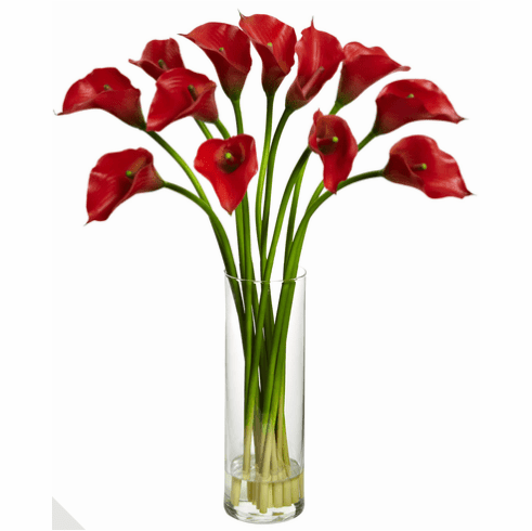 "20"" Mini Calla Lily Artificial Flower Arrangement"