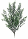 "21"" Plastic Rosemary Artificial Bush - Set of 12"