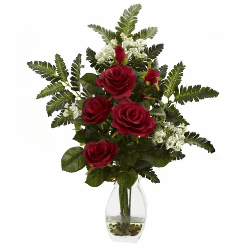 "21"" Rose & Chryistam Arrangement"