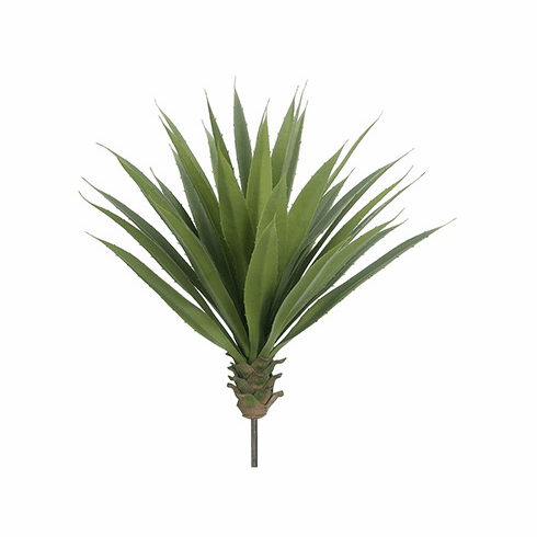 """22""""H X 22""""DIAM Artificial Agave Plant - Non Potted- Set of 4"""
