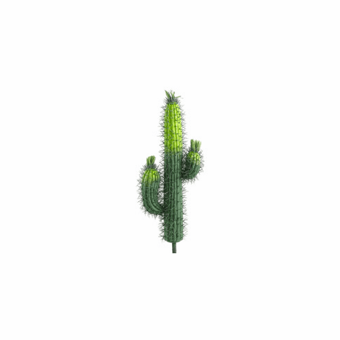 "23"" Artificial Saguaro Cactus - Non Potted - Set of 3"