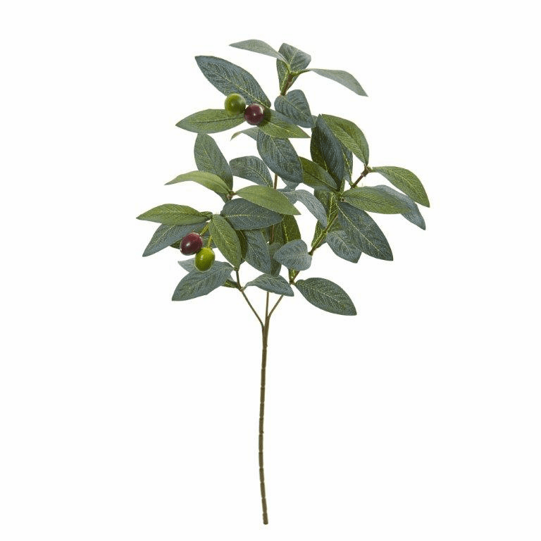 23� Olive Spray Artificial Plant (Set of 24)