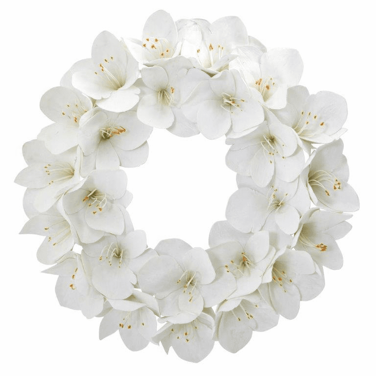 24� Amaryllis Artificial Wreath