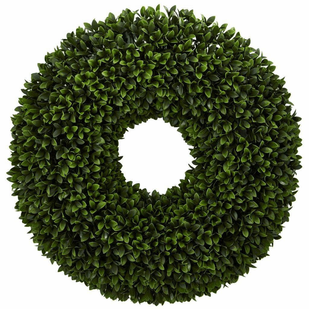 24� Boxwood Artificial Wreath
