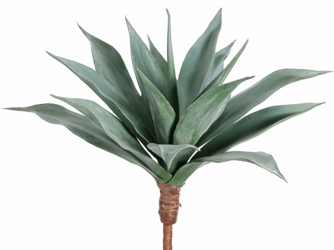 """25"""" Large Artificial Agave Cactus Plant - Non Potted - Set of 2"""