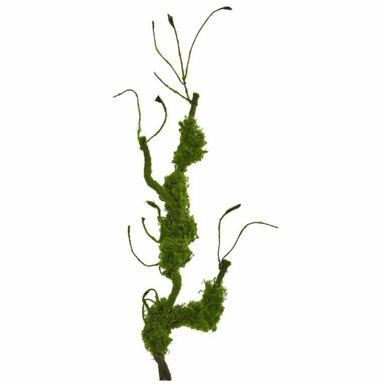 25� Moss Twig Vine Artificial Plant (Set of 4)