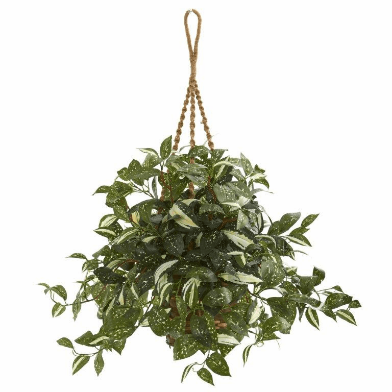 26� Florida Beauty Artificial Plant in Hanging Basket