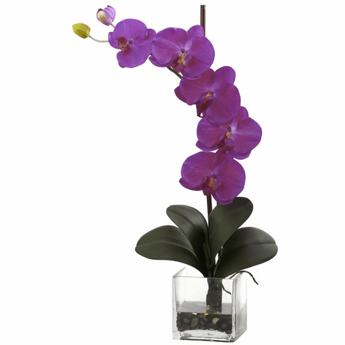 "26"" Giant Phalaenopsis Orchid w/Vase Arrangement - Orchid Color"