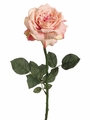 "26"" Single Artificial Sophia Rose Spray with Water-Proof Stem - Set of 12"