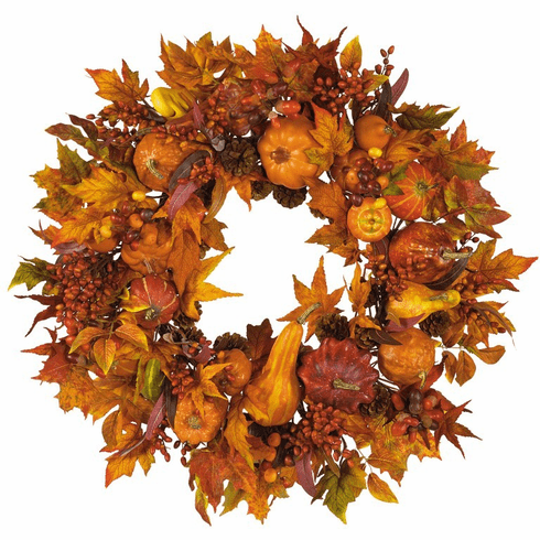 "28"" Large Harvest Wreath"