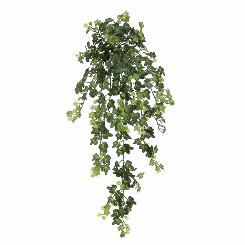 "29"" Artificial Lace Ivy Hanging Silk Plants with 436 Leaves - 1 Dozen"