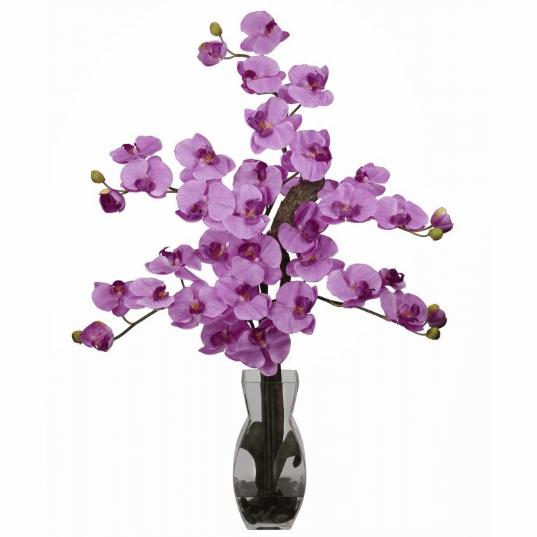 "29"" Phalaenopsis w/Vase Silk Flower Arrangement"