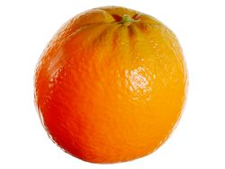 "3.25"" Plastic Artificial Orange - Set of 36"