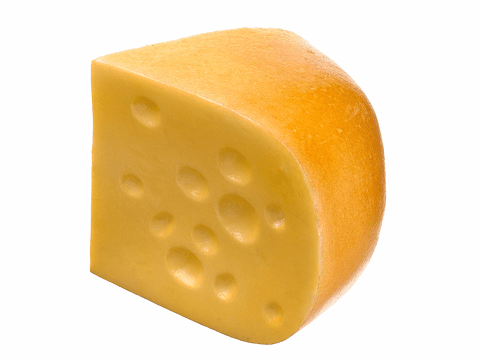 """3.5"""" Artificial Cheese Wedge"""