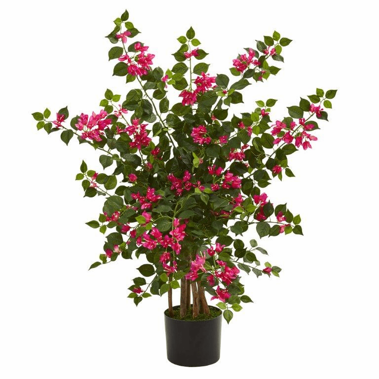 3.5' Bougainvillea Artificial Tree