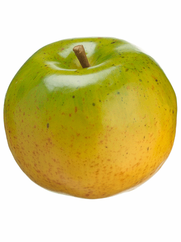 "3.9"" Artificial Foam Apple - Set of 6"