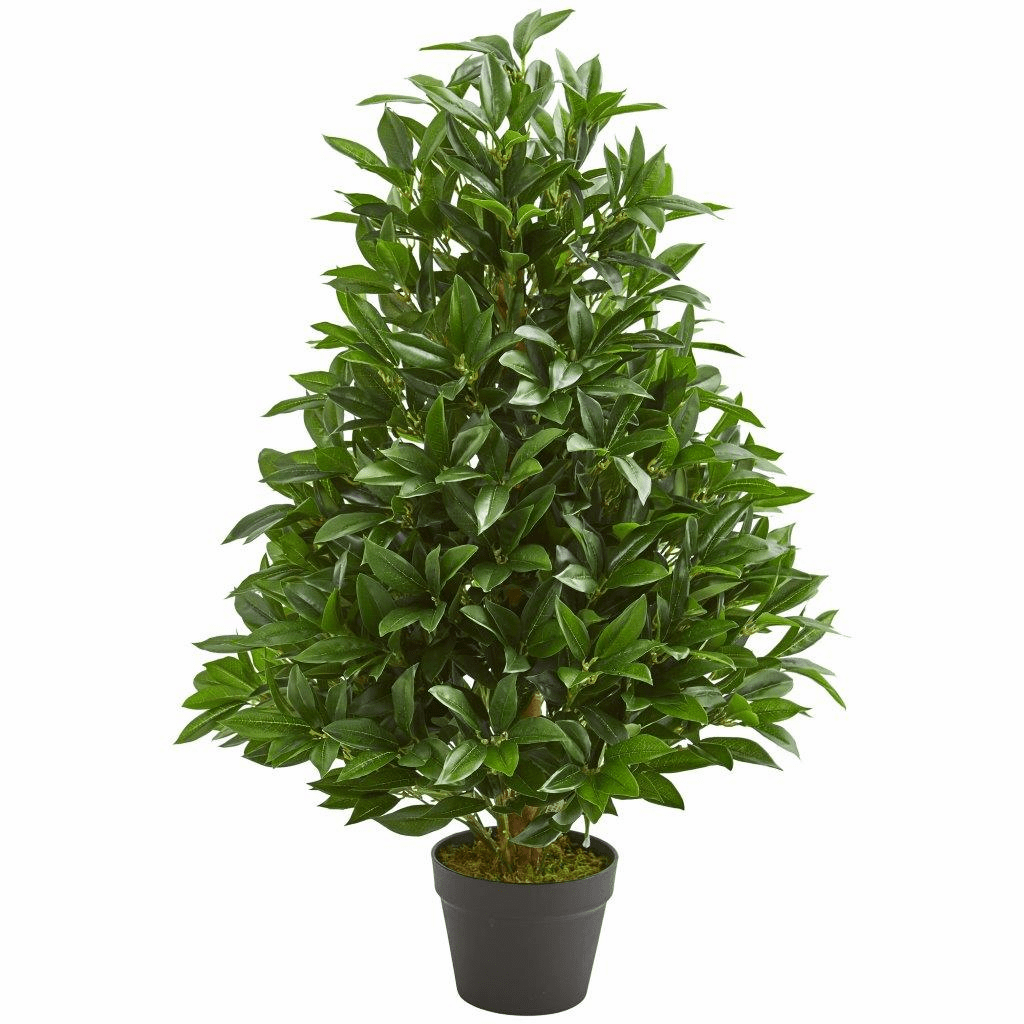 3� Bay Leaf Artificial Topiary Tree UV Resistant (Indoor/Outdoor)