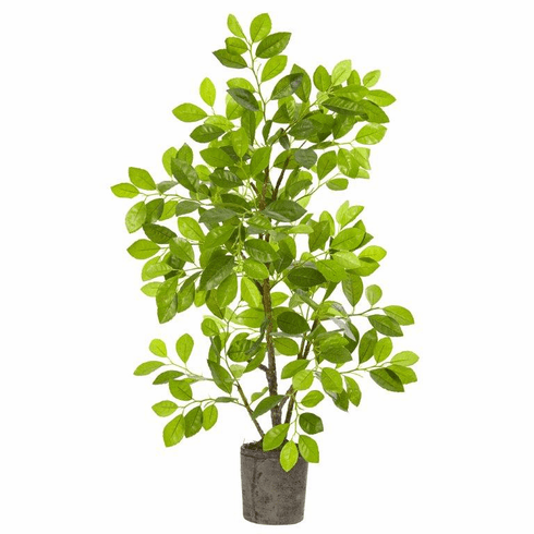 3' Ficus Artificial Tree in Planter