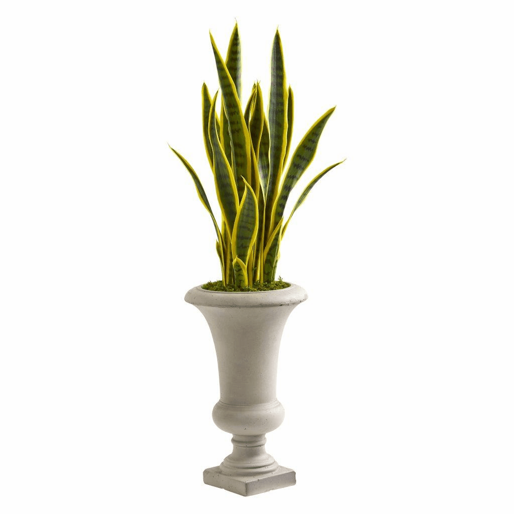 3� Sansevieria Artificial Plant in Urn