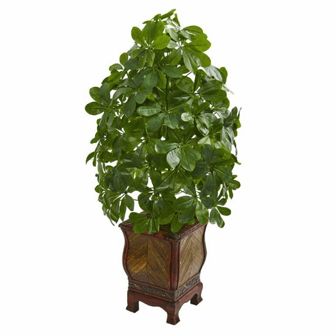 3' Schefflera Artificial Plant in Decorative Planter (Real Touch)