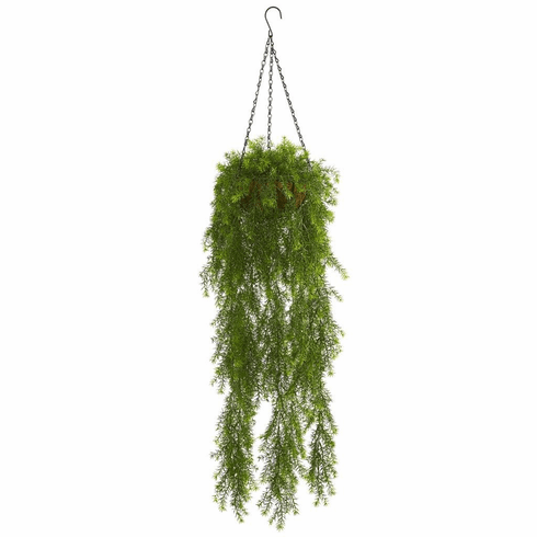 3' Willow Artificial Plant Hanging Basket