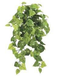 """30"""" Artificial Potato Leaf Silk Hanging Bush with 101 Leaves - Set of 6"""