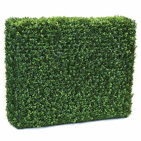 "30"" High x 35"" Length Outdoor Artificial Boxwood Hedge - UV Protected"