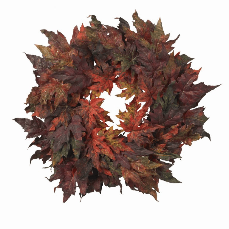 "30"" Large Maple Leaf Wreath"