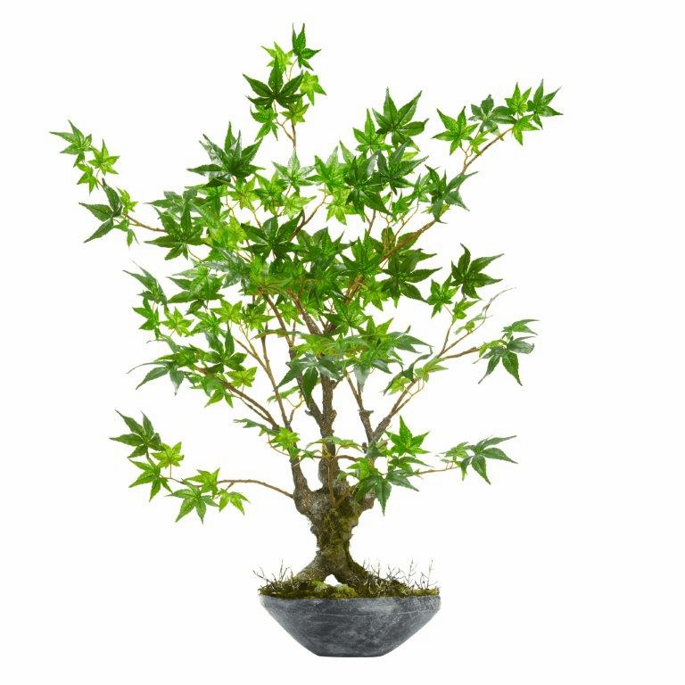30� Maple Bonsai Artificial Tree in Planter