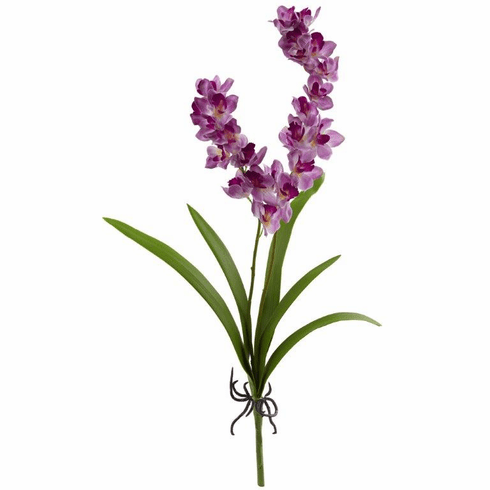 "30"" Orchid Artificial Flower (Set of 6) - Purple"