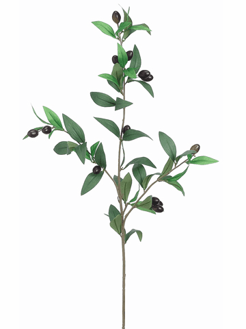 "31.5""  Olive Branch Artificial Stem - Set of 12"